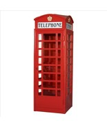 London Telephone Booth Authentic Model Replica Reproduction LIFE_SIZE - $2,771.01
