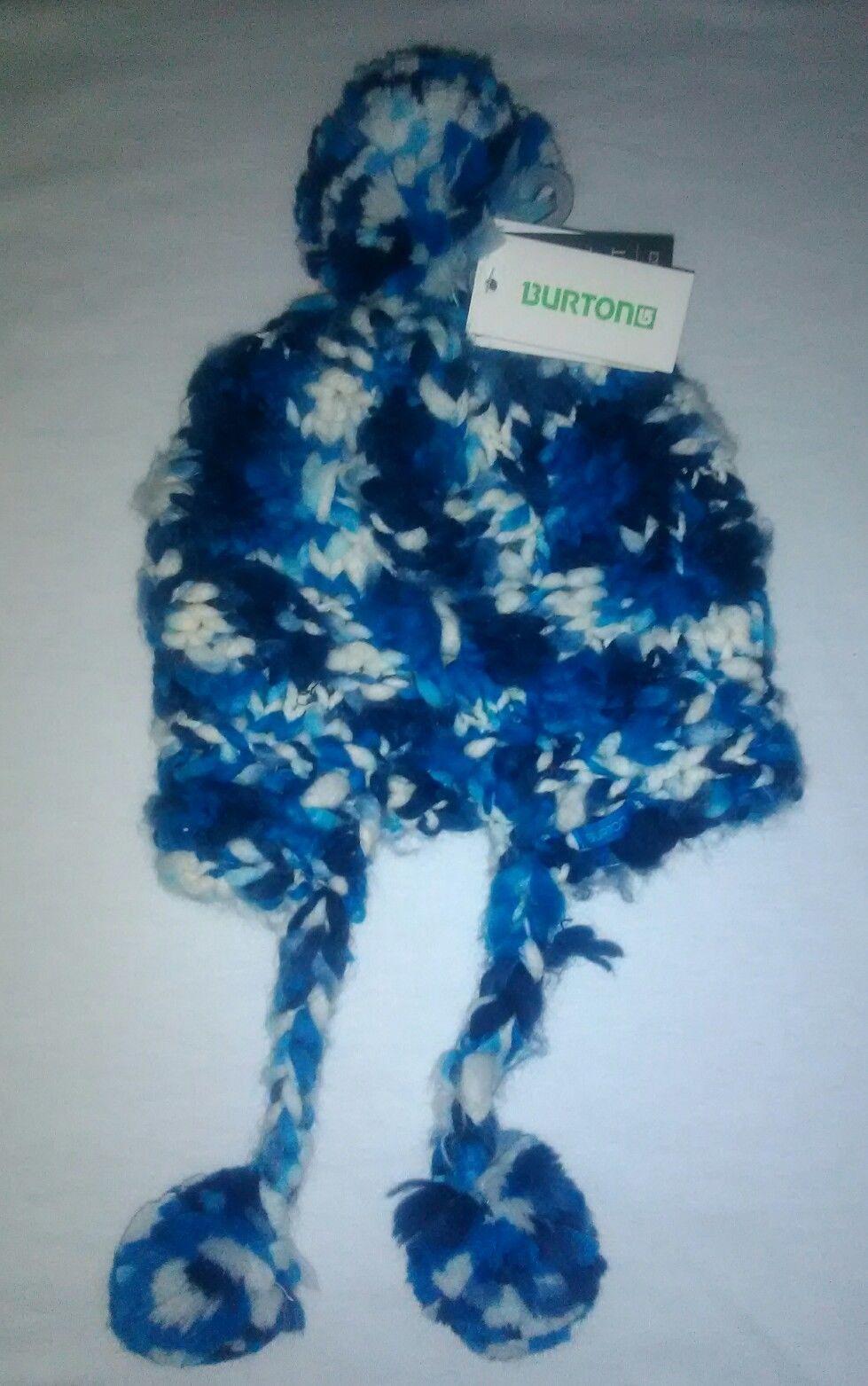 ef3d0a208d5 BURTON Girls Nana Earflap Beanie- Heron Blue and 36 similar items. S l1600