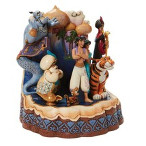 """Jim Shore Carved by Heart Aladdin by Disney Traditions 7.67"""" High image 2"""