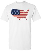 USA MAP Flag T shirt - $14.99+