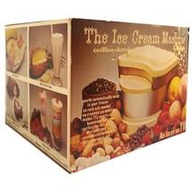 Ronco Ice Cream Machine - $16.00