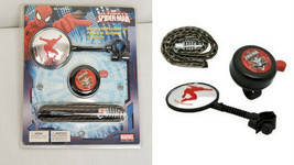NEW SEALED Bell Ultimate Spider-Man Bike Accesory Combo Kit Mirror Bell ... - $24.74