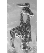 SALE Zoo trip Giraffe Wild Animal Park safari vacation charm - $21.90