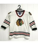 Vintage Chicago Blackhawks Starter Jersey pro hockey NHL 90s Hockey size... - $44.44