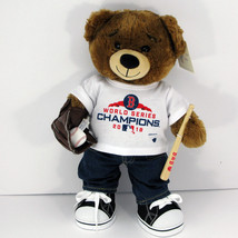 BABW Baseball Boston Red Sox  World Series Champions Bearemy Bear & Accessories - $74.20