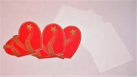 "3 VINTAGE HALLMARK HEART CITY ""HAPPY VALENTINE'S DAY"" GREETING CARDS & E... - $29.69"