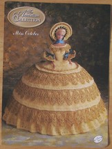 Crochet Pattern The Antebellum Collection Miss October Beautiful Annie's - $3.91
