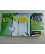 Bottle Smash Standard Outdoor Game Set  Fun Disc Toss Game for Family New - $29.69