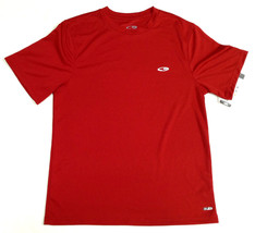 Champion Mens Duo Dry Training T-Shirt Mesh Red Small - $12.99