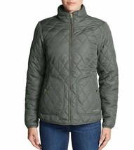 Eddie Bauer Ladies' Lightweight Quilted Jacket- Caper Green Size: Medium - $29.58