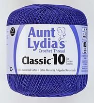 Coats Crochet Classic Crochet Thread, 10, Violet - $6.98