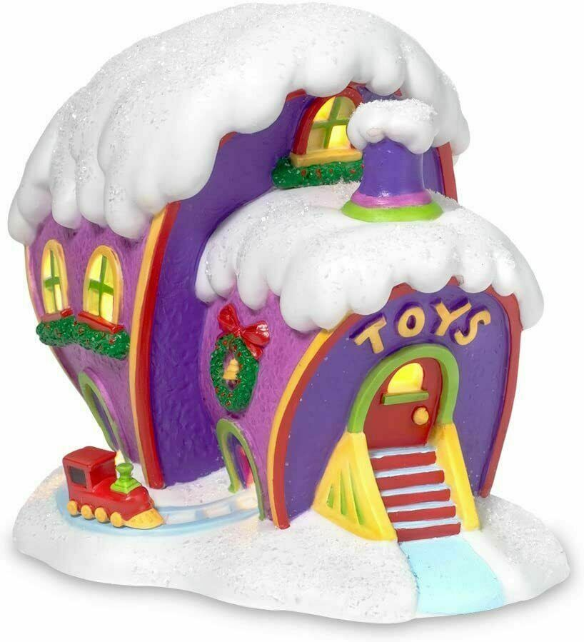 Primary image for Department 56 Grinch Village Who-Ville Toy Store 803394 New Retired Dept