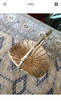 Basket with citrus potpourri - $24.99