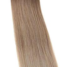 "Easyouth 22"" Adhesive Tape In Hair Extensions 50g 20 pieces Color #12 Fading To  image 4"