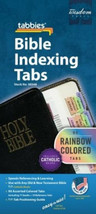 Bible Index Tabs 90 Standard Rainbow Color for Old & New Testament & Cat... - $9.55