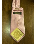 Donald Trump Signature Collection 100% Silk Neck Tie Men's Pink EUC - $59.39