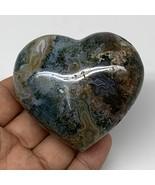"173.3g, 2.4""x2.9""x1.3"" Ocean Jasper Heart Polished Healing Crystal, B4929 - $29.69"