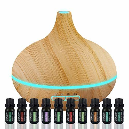 Ultimate Aromatherapy Diffuser & Essential Oil Set - Ultrasonic Diffuser & Top 1