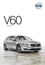 2015 Volvo V60 sales brochure catalog folder US T5 T6 AWD R-Design - $8.00