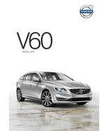 2015 Volvo V60 sales brochure catalog folder US T5 T6 AWD R-Design - $7.00