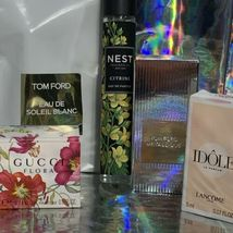 NEW IN BOXES Mini Fragrance / Perfume Lot Tom Ford Gucci Lancome Nest Citrine ! image 6