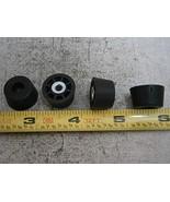 TF6T Round Bumper Feet w/Steel Support Bushing #6 Rubber LOT of - 4#6060... - $23.85