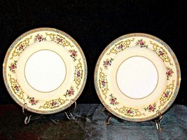 Noritake China 2 Serving Plates  Japan (Colby  Pattern # 5032) AA19-1503 Vintage