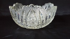 Imperial Nucut #464 'Star and Cane' Pattern Salad Bowl  - $25.00