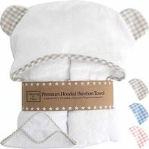Premium Hooded Baby Towels and Washcloth Set - Organic Bamboo Baby Towel... - $43.71
