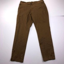 J.Crew Stretch Brown Men's Size 32 Casual Full Pants - $24.73