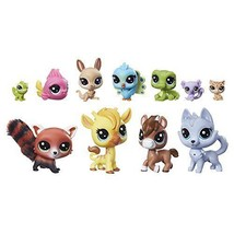Littlest Pet Shop A Colorful Bunch LPS World Kids Girls Toys Gift NEW - $45.92