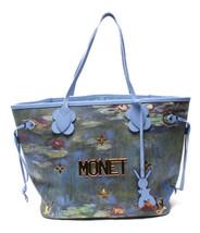 Auth Louis Vuitton Tote Bag Purple Multi Color Neverfull MM Zipper Clasp... - €3.750,16 EUR