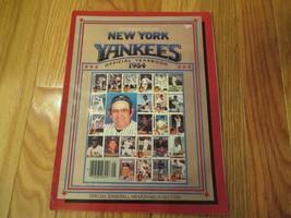 1984 New York Yankees Official Yearbook Souvenir Magazine MLB Baseball - $8.99