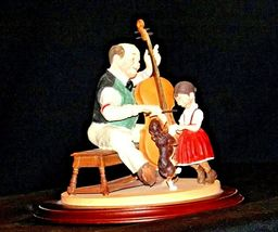 """1992 Days to Remember - Norman Rockwell """"The Fiddler"""" Figurine AA19-1611 Vinta image 3"""