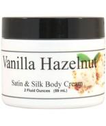 Vanilla Hazelnut Flower Satin and Silk Cream - $10.66+