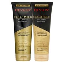 REVLON ColorSilk Glowing Blonde 8.45 Fluid Ounces Shampoo + Conditioner Duo Set - $15.98
