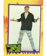 Donnie Wahlberg trading card (New Kids on the Block) 1989 Topps #7 - $4.00
