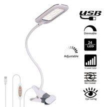 Addie LED Clip Light/Reading light/Book Light with 5 Modes and Stepless ... - $20.76