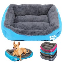 Dog Bed Small Dog House Warm Fleece Pet Sofa Kennel Nest Puppy Cat Beds ... - $47.50