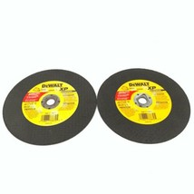 "Lot of 2 DeWalt XP TA24T DW8056 Metal Cutting Disc 7"" x 1/8"" x 5/8"" Type 1 - $23.38"