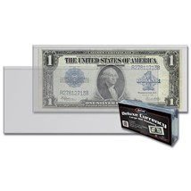6 Packs (300) BCW Deluxe Large Bill Currency Holder - $56.98