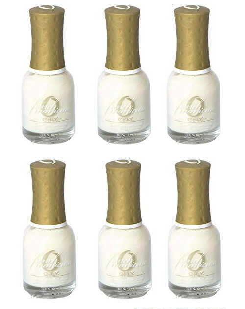Lot of 6: NEW Orly French Manicure Natural Look Nail Polish in 482 Sheer Beauty