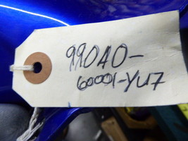 SUZUKI GSX R600 Fender Hugger Blue 990A0-60001-YU7 and Blue 990A0-60001-YBA image 2