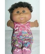 """2012 O.A.A. Girl Doll JAKKS China in Pink Printed Pajama 12""""  - $6.93"""