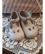 Marquitos Chiquitin White Leather Petal Baby Shoes Euro 18/US 3 Madrid 1... - $17.00