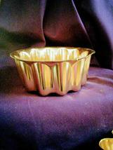 Set of Aluminum Copper color Jello Molds (5) - $30.00