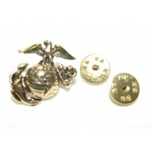 ALBATROS Pewter USMC Marine Corps Pin 1 inch Wide x 1 inch Tall for Home... - $32.96