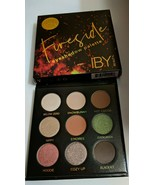 IBY BEAUTY Fireside Eye Shadow Palette Full Size 9 Colors Ipsy Exclusive... - $14.20