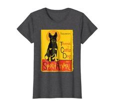 Funny Australian Cattle Dog Cute Dog Mashup Art T-Shirt - $19.99+