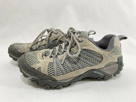 Merrell Women's Yokota Ventilator Ice/Dream Blue Trail Hiking Shoes Boots Sz 6.5 - $27.71